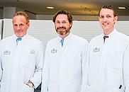 Prof. Dr. Germann, PD Dr. Reichenberger, Dr. Hrabowski