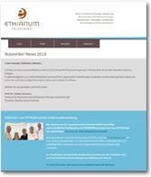 ETHIANUM Newsletter 11, November 2018